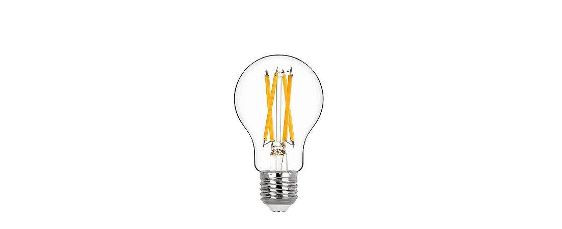 Lâmpada Bulbo Filamento 7W 806lm 2700K E27 320° Bivolt Stella STH20212/27