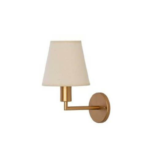 Arandela Rieti Metal 16x23,5x28,5cm 1xE27 LED Cor Gold Foco Metallo AR 111