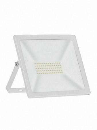 Refletor TR Slim Temperatura (K) Verde 50W 305x255x30mm Bivolt Cor Branco Taschibra 7897079056877