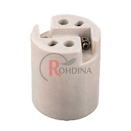 Base/Receptáculo de Porcelana E40 16A/750V Reforçado Rohdina 7881007