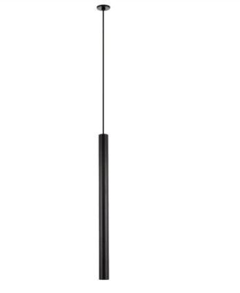 Pendente Lisse Cilíndrico Com Canopla Para Gesso 1 Mini Dicroica 4x60cm Newline 426