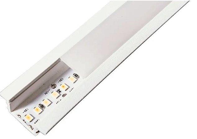 Perfil Embutir Linear Linha Wood 28x500x11mm Usina 30685/50