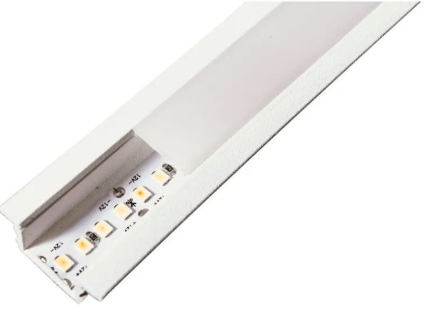 Perfil Embutir Linear Linha Wood 28x2750x11mm Usina 30685/275
