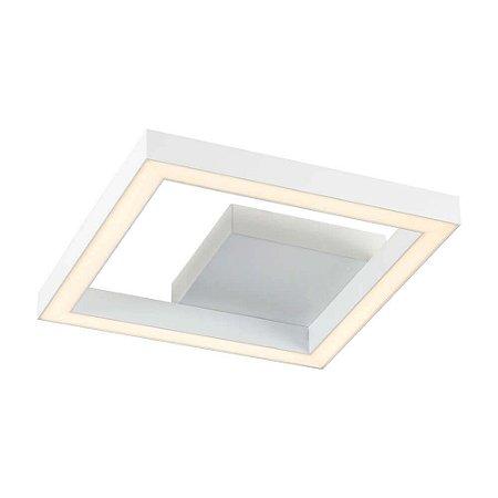Plafon Fit Led Quadrado LED 4000K Bivolt 127/220V 28x28x58cm Newline 690LED4