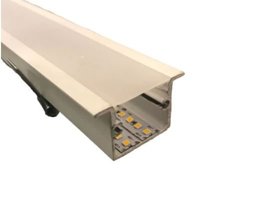 Perfil Embutir Linear Linha Polo 45x1750x27mm Usina 30695/175