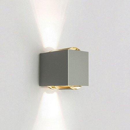 Arandela Lens – 220V LED 2700K – 100 x 150 x 155mm Newline SNT026LED2