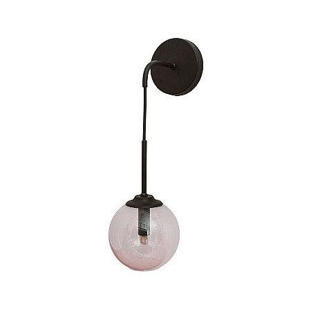Arandela Ball com Globo Ø140mm - Ø140x450x190mm 1xG9 Usina 16411/14