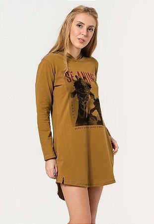 Vestido Girafa Caramelo