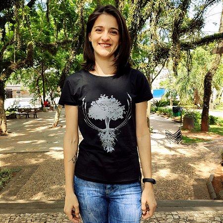 Camiseta Feminina - Árvore