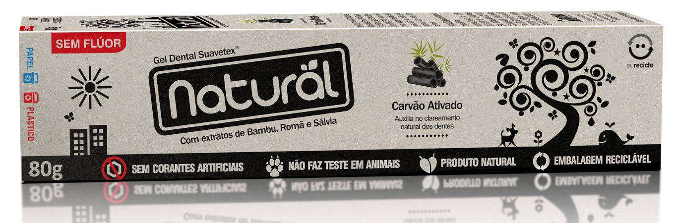 Creme Dental - Carvão Natural