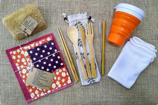 Kit Lixo Zero - Refeição + Embalagens