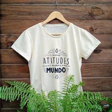 Camiseta Feminina - Minhas Atitudes