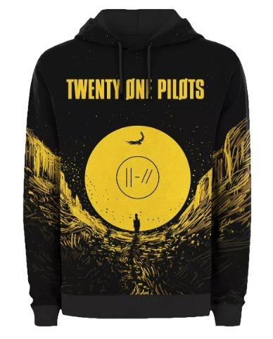 275e24b831 Blusa De Frio Twenty One Pilots Estampa Full Moletom Unissex