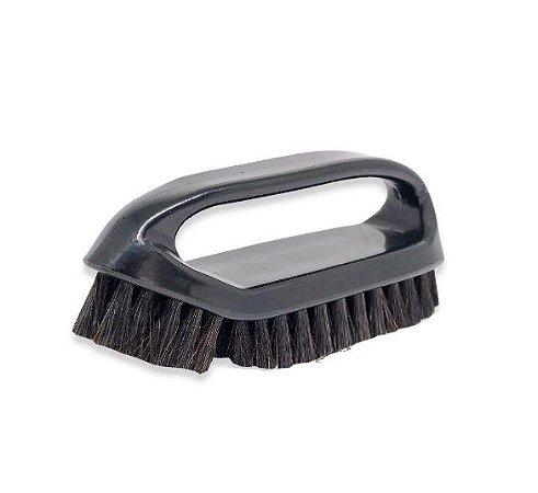 Escova para Limpeza de Couro Cerdas Macias - Detailer