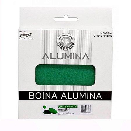 """Boina Alumina Corte Pesado Verde 165mm 6"""" - Easytech"""