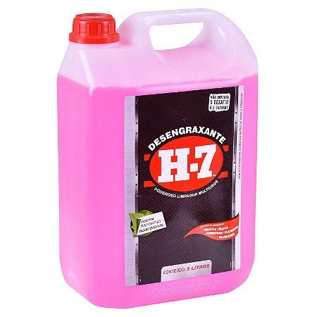H7 - Desengraxante Multiuso para Limpeza Pesada 5 Litros