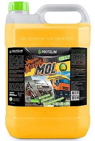 Detergente Desincrustante Neutro Xtreme Mol 5l Protelim