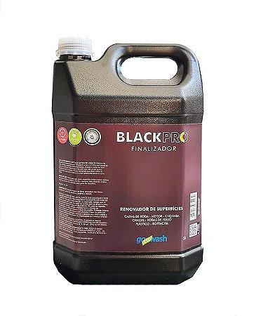 BlackPro Go Eco Wash - Finalizador para Caixa de Rodas, Motor e Chassi 5l