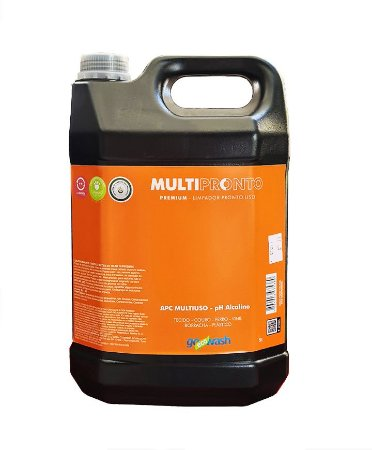 MultiPronto Go Eco Wash - Limpador Multiuso Perfumado 5l