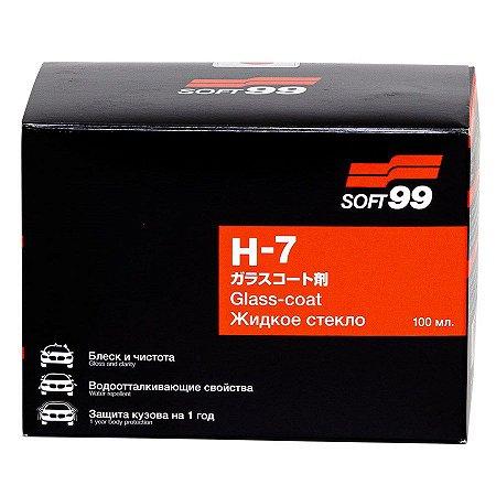 Vitrificador de Pintura 100ml 3 Anos de Proteção H7 - Soft99