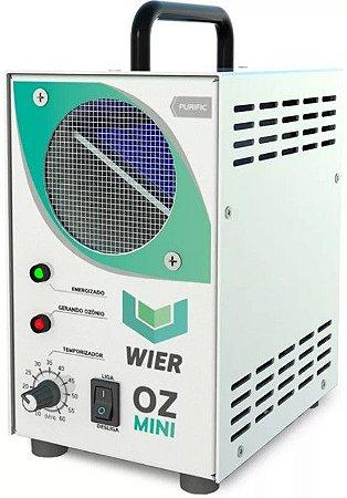Gerador Ozônio Purific Higienizador 10g/h - Oz Mini - Wier