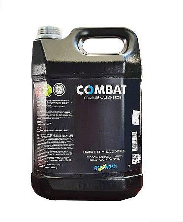 Combat Go Eco Wash - Sanitizante Eliminador de Odores Bactericida 5l
