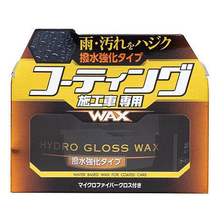 Cera a Base D'Água Para Carros Vitrificadas Hydro Gloss 150g - Soft99