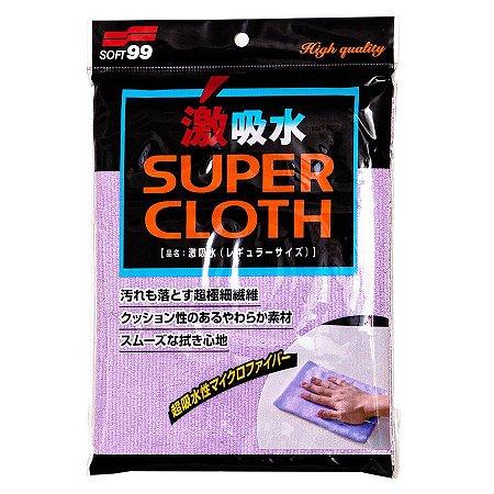 Super Cloth - Pano para Secagem de Alta Absorção - 30x50cm - Soft99