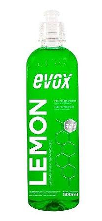 Shampoo Banho Automotivo Lemon Desengraxante 500ml - Evox