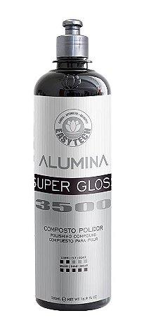 Alumina Super Gloss 3500 Composto Polidor Lustro 500ml - Easytech