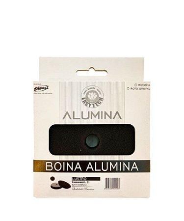 """Boina Alumina Lustro Preta 140mm 5"""" - Easytech"""