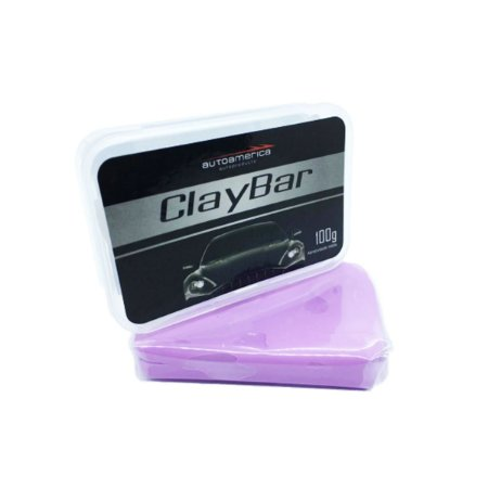 Clay Bar Barra Descontaminante Média - 100g - Autoamerica