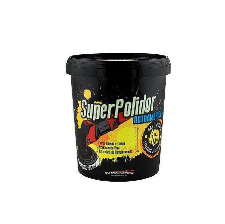 Massa de Polir Super Polidor 1kg - Autoamerica