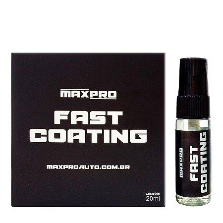 Fast Coating - Vitrificador de Alto Rendimento 1 ano - 20ml - Maxpro