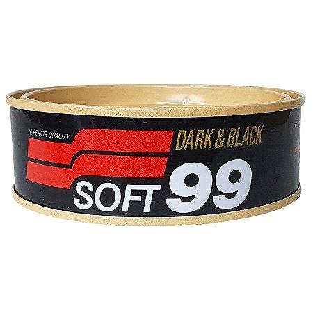 Cera de Carnaúba para Espelhamento Dark e Black Cores Escuras 100g - Soft99