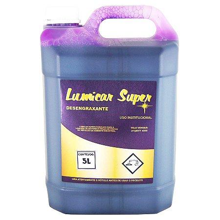 Lumicar Super 5L - Detergente Desengraxante - Cadillac