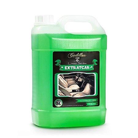 Limpa Estofados Extratcar 5L - Com Ação Bactericida e Fungicida - Cadillac