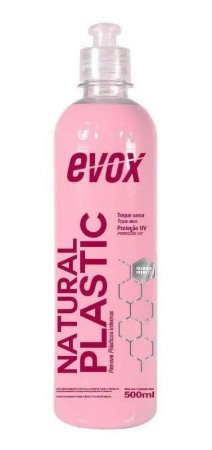 Renovador de Plásticos Internos Natural Plastic 500ml - Evox