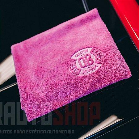 Toalha de Microfibra DB Towel 350Gsm 40x40 - Rosa