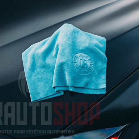 Toalha de Microfibra DB Towel 350Gsm 40x40 - Azul