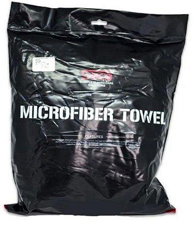 Toalha de Secagem Microfibra Cinza 400G - 60x160cm SGCB