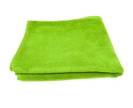 Toalha de Microfibra Verde Microfiber Towel 40x40 400gsm - SGCB