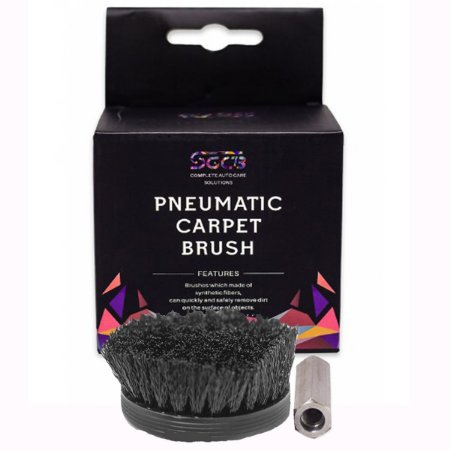 Pneumatic Carpet Brush - Escova Média Para Politriz Sgcb