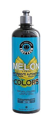 Easytech Shampoo Automotivo Melon Colors Azul Concentrado (500ml)