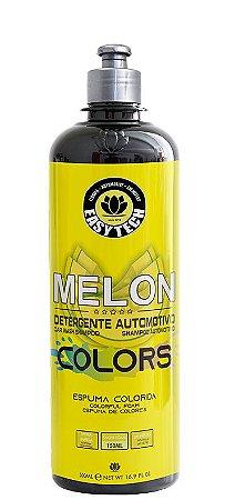 Easytech Shampoo Automotivo Melon Colors Amarelo Concentrado (500ml)