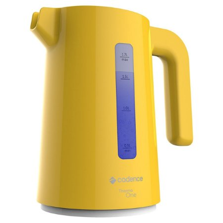 Chaleira Elétrica Cadence Thermo One Colors 1,7L Amarela