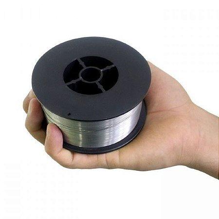 Arame Para Solda Mig Revestido Uso Sem Gás 0,8mm E71t-sg