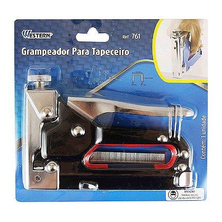 Grampeador Tapeceiro Para Grampos De 4 A 14mm Western