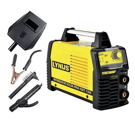 Inversora De Solda Eletrodo 130A Lis-130 Lynus - 127V