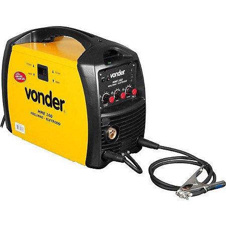 Máquina para solda MIG/MAG e eletrodo, Minimig MME 160, VONDER